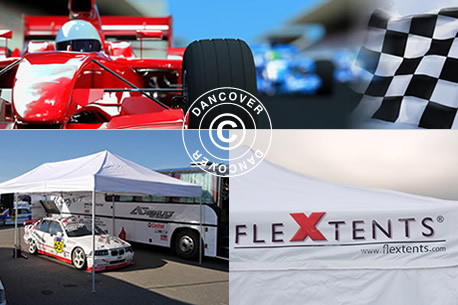 Pop up Canopies Flextents - Racing canopies