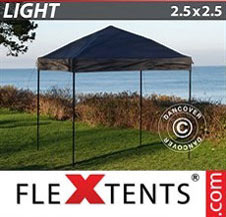 Pop up Canopy FleXtents Light 2.5x2.5 m Black