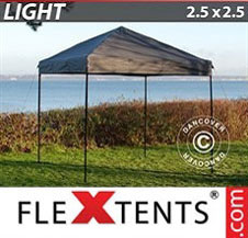 Pop up Canopy FleXtents Light 2.5x2.5 m Grey