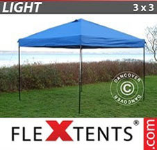 Pop up Canopy FleXtents Light 3x3m Blue