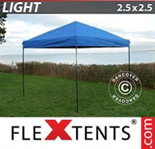 Pop up Canopy FleXtents Light 2.5x2.5 m Blue