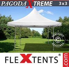 Pop up Canopy FleXtents Pro Xtreme 3x3 m / (4x4 m) White