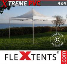 Pop up Canopy FleXtents Pro Xtreme 4x4 m Clear