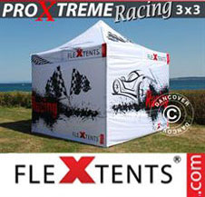 Pop up Canopy FleXtents Pro Xtreme Racing 3x3 m, Limited edition
