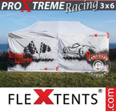 Pop up Canopy FleXtents Pro Xtreme Racing 3x6 m, Limited edition