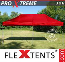 Pop up Canopy FleXtents Pro Xtreme 3x6 m Red