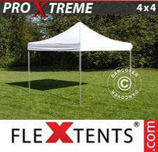 Pop up Canopy FleXtents Pro Xtreme 4x4 m White