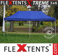 Pop up Canopy FleXtents Pro Xtreme 3x6 m Dark blue