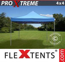 Pop up Canopy FleXtents Pro Xtreme 4x4 m Blue