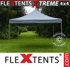 Pop up Canopy FleXtents Pro Xtreme 4x4 m Grey
