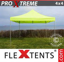 Pop up Canopy FleXtents Pro Xtreme 4x4 m Neon yellow/green