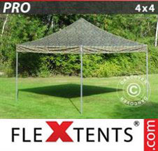 Pop up Canopy FleXtents Pro Xtreme 4x4 m Camouflage/Military