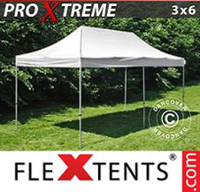 Pop up Canopy FleXtents Pro Xtreme 3x6 m White