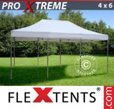 Pop up Canopy FleXtents Pro Xtreme 4x6 m White
