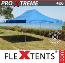 Pop up Canopy FleXtents Pro Xtreme 4x6 m Blue