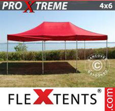 Pop up Canopy FleXtents Pro Xtreme 4x6 m Red