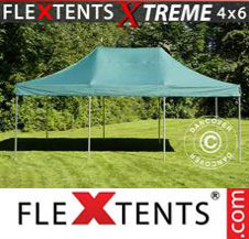 Pop up Canopy FleXtents Pro Xtreme 4x6 m Green