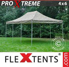 Pop up Canopy FleXtents Pro Xtreme 4x6 m Camouflage/Military
