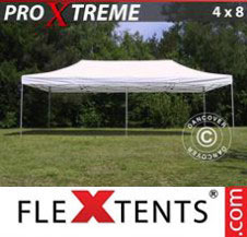 Pop up Canopy FleXtents Pro Xtreme 4x8 m White