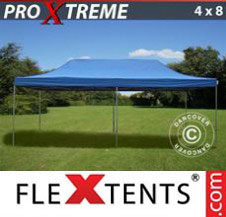 Pop up Canopy FleXtents Pro Xtreme 4x8 m Blue