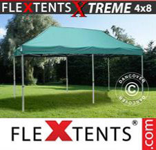 Pop up Canopy FleXtents Pro Xtreme 4x8 m Green