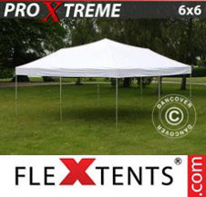 Pop up Canopy FleXtents Pro Xtreme 6x6 m White