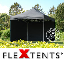 Market canopies Flextents